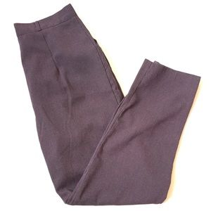 Vintage Pinstriped high waisted trousers purple